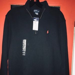 Ralph Lauren Polo Zipped Pullover Sweater NWT